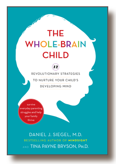 parenting books, the whole brain child