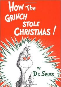 Holiday Books the Grinch stole christmas